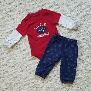 Little brother sport outfit